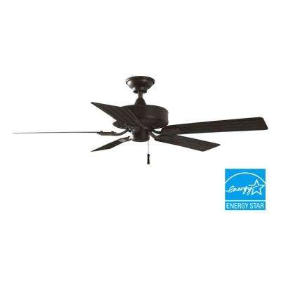 Barrow Island 52 in. Indoor/Outdoor Natural Iron Ceiling Fan