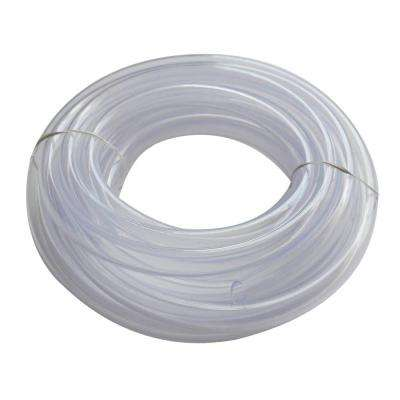 5/8 in. O.D. x 1/2 in. I.D. x 20 ft. Clear PVC Vinyl Tubing
