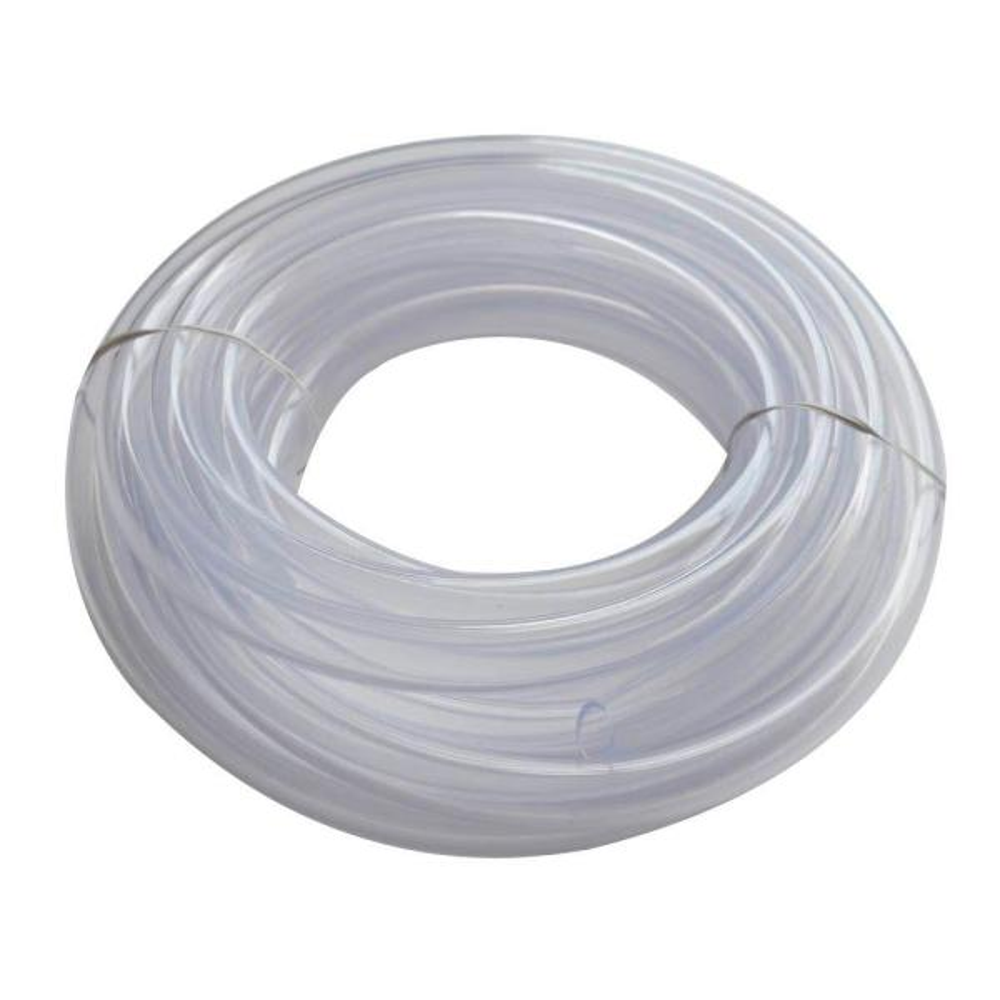 5/8 in. O.D. x 1/2 in. I.D. x 20 ft. Clear PVC Vinyl Tube