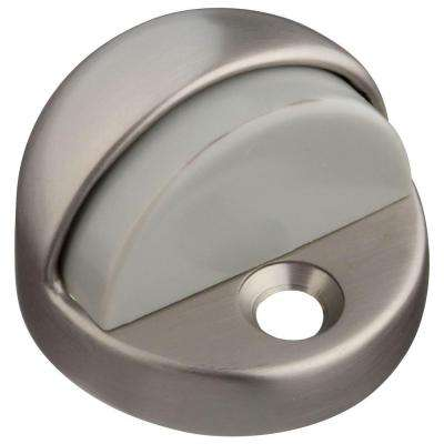 Satin Nickel Floor Door Stop