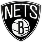 NBA Brooklyn Nets Outdoor Logo Graphic- Small