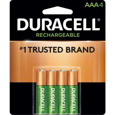Rechargeable AAA Alkaline Battery (4-Pack)