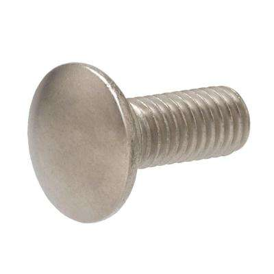 5/16 in. x 4 in. Stainless-Steel Carriage Bolt (25-Pack)