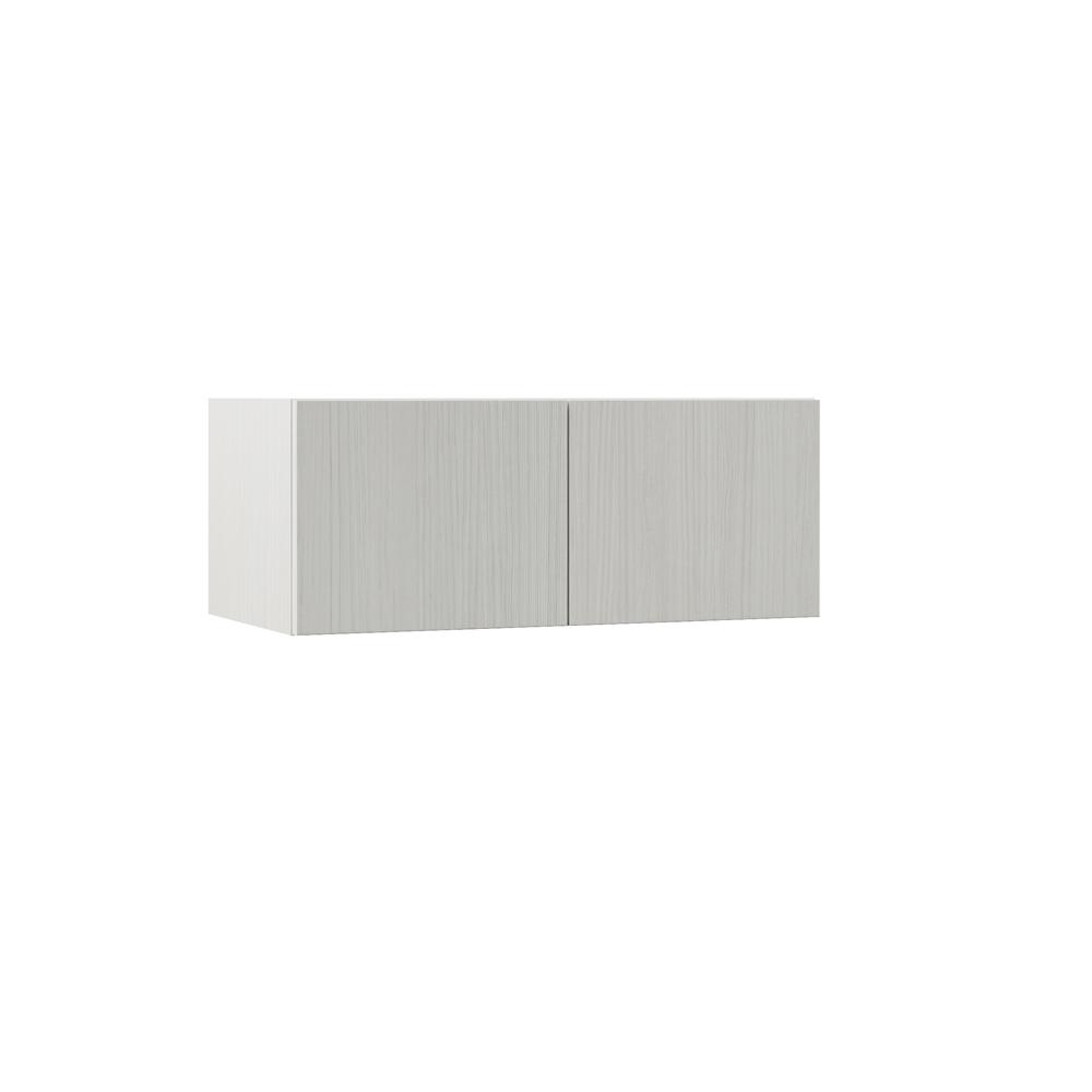 Hampton Bay Designer Series Edgeley Assembled 30x12x15 In Deep Wall