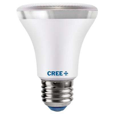 50W Equivalent Bright White (3000K) PAR20 Dimmable Exceptional Light Quality LED 40-Degree Flood Light Bulb
