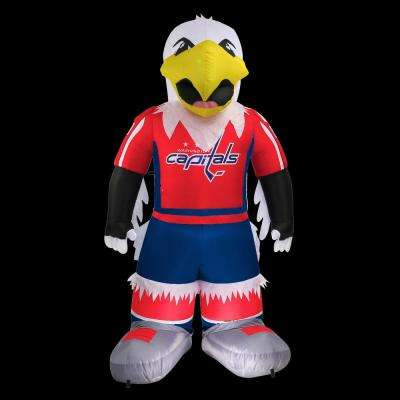 7 ft. Washington Capitals Inflatable Mascot