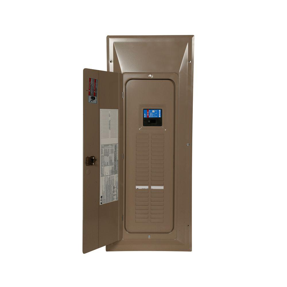Eaton CH 200 Amp 42-Space 84-Circuit Indoor Main Breaker Load Center with Cover Value Pack (3-CH120 and 1-CH230)