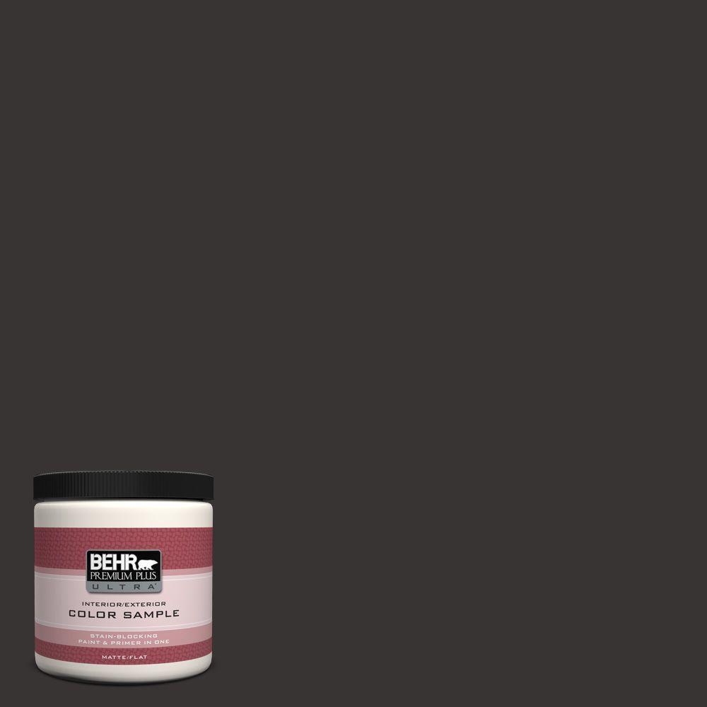 BEHR Premium Plus Ultra 8 oz. #ECC-27-3 Evening Canyon Interior/Exterior Paint Sample