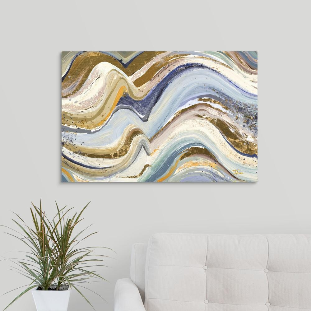 Earth Tone New Concept By Patricia Pinto Canvas Wall Art