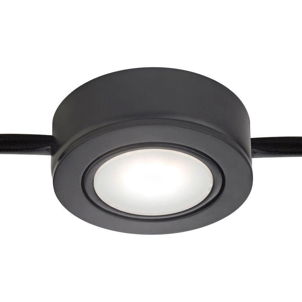 Tuxedo Swivel 1-Light LED Black Under Cabinet Light