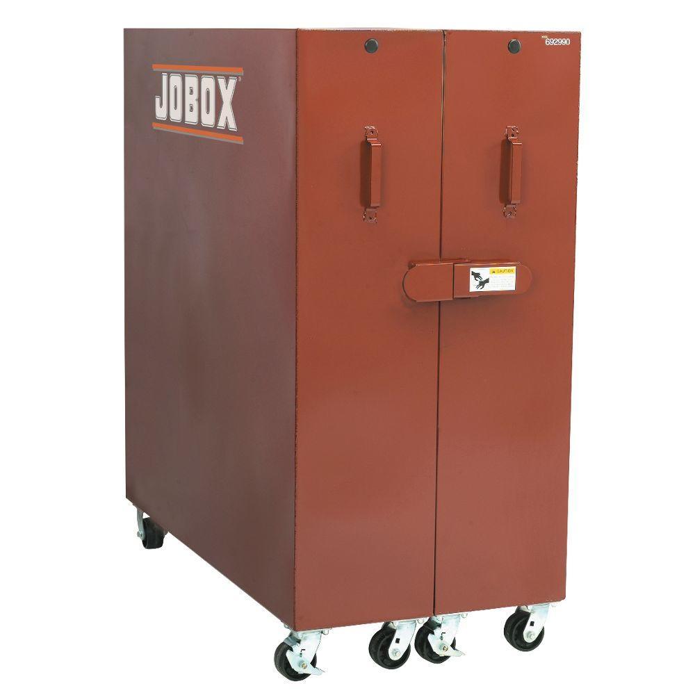 b8947f835c9 Heavy Duty 60 in. 2-Door Storage Cabinet-1-697990 - The Home Depot