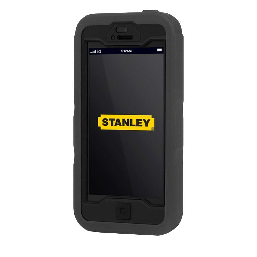 Stanley Dozer iPhone 5 Rugged 3-Piece Smart Phone Case - Gray and White