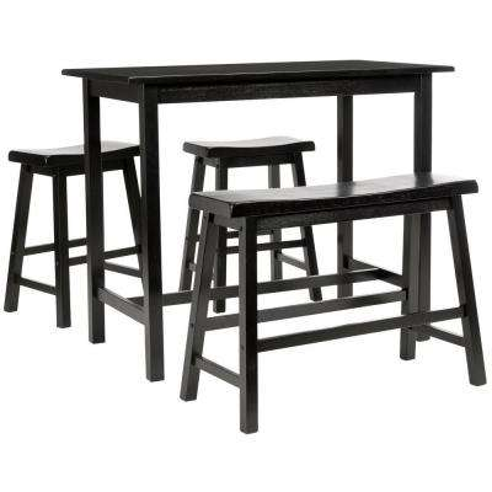 Ronin 4-Piece Espresso Bar Table Set