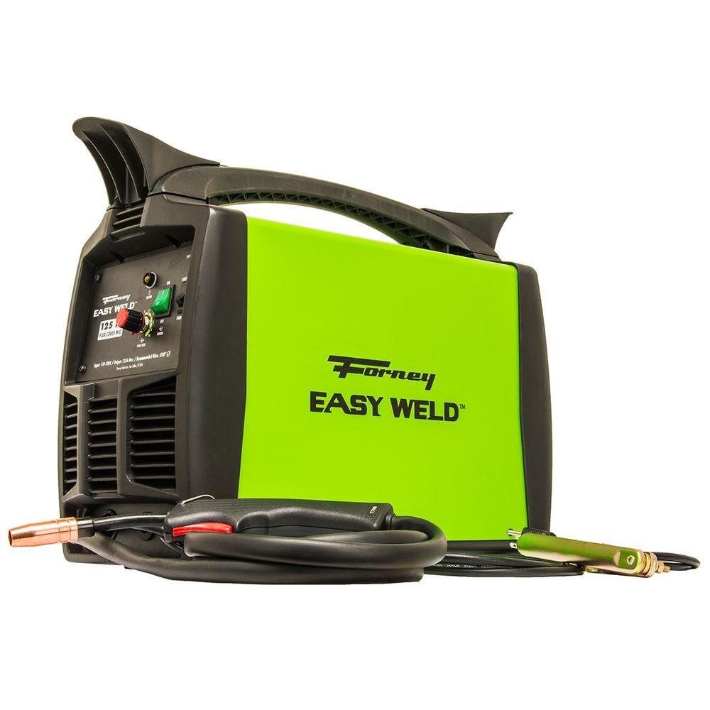 120-Volt 125 Amp Flux Core Only MIG Welder 125FC