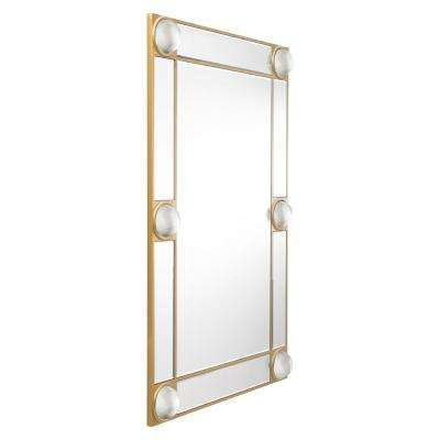 Rectangle Lucite Wall Mirror