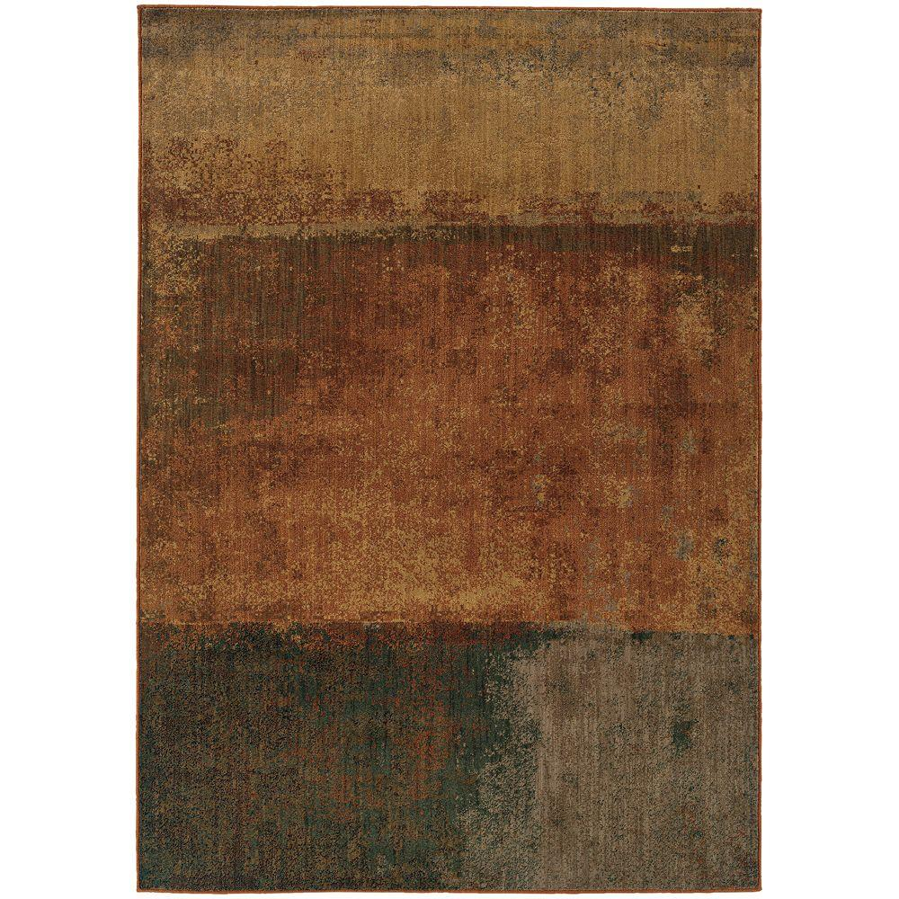 Home Decorators Collection Epoch Earth 2 ft. x 3 ft. Area Rug
