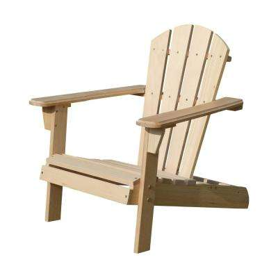 Unfinished Wood Kids Adirondack Chair Kit