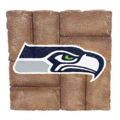 Seattle Seahawks 12 in. x 12 in. Decorative Garden Stepping Stone