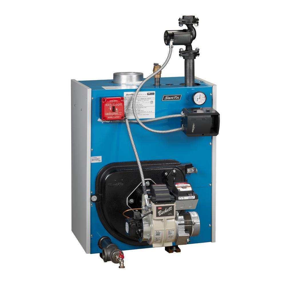 Intrepid Oil Steam Boiler with 98,000 BTU Output
