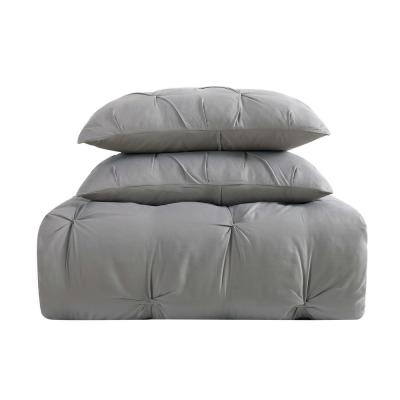 Everyday 3-Piece Grey King Comforter Set