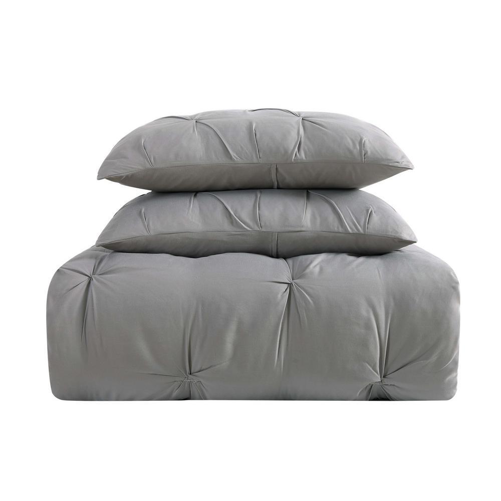 Everyday Pleated Comforter Set