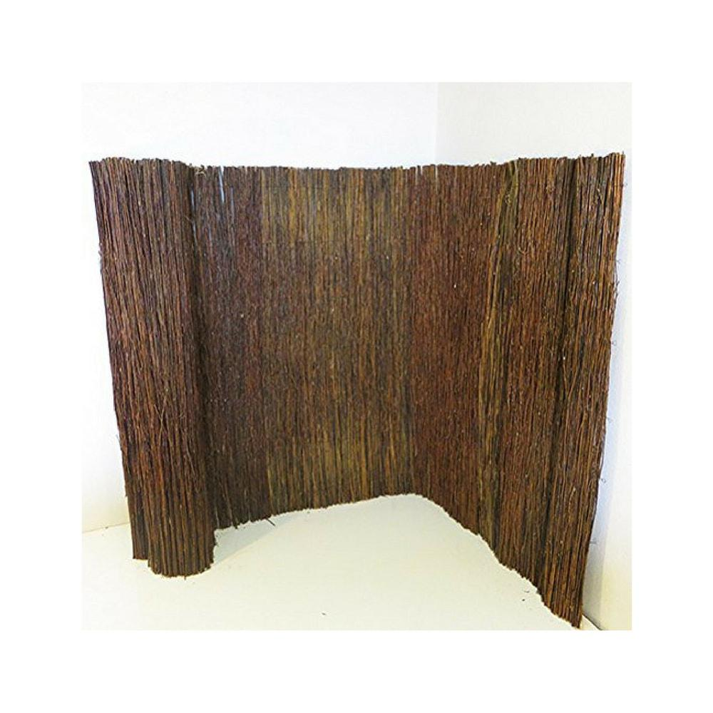 8 ft. L x 5 ft. H Willow Twig Privacy Screen
