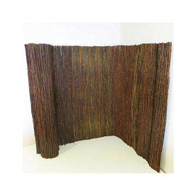 8 ft. L x 5 ft. H Willow Twig Privacy Screen Fence