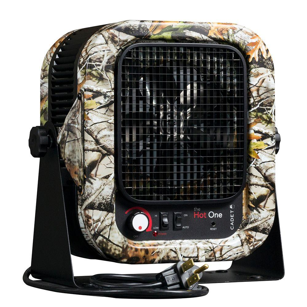 5,000-Watt Electric Portable Garage Camo Heater