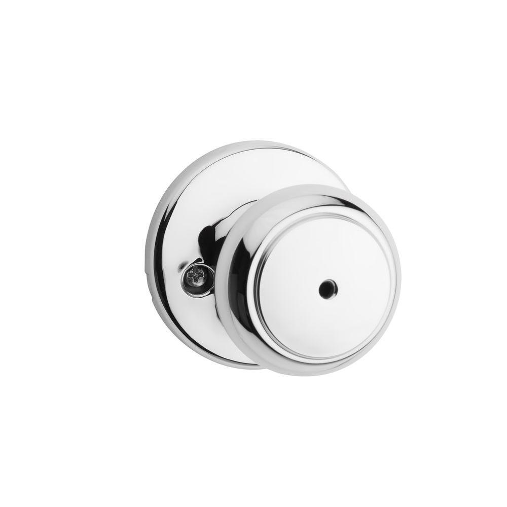 Cove Polished Chrome Bed/Bath Knob