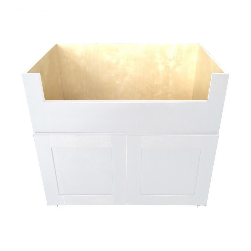 farmhouse sink base cabinet