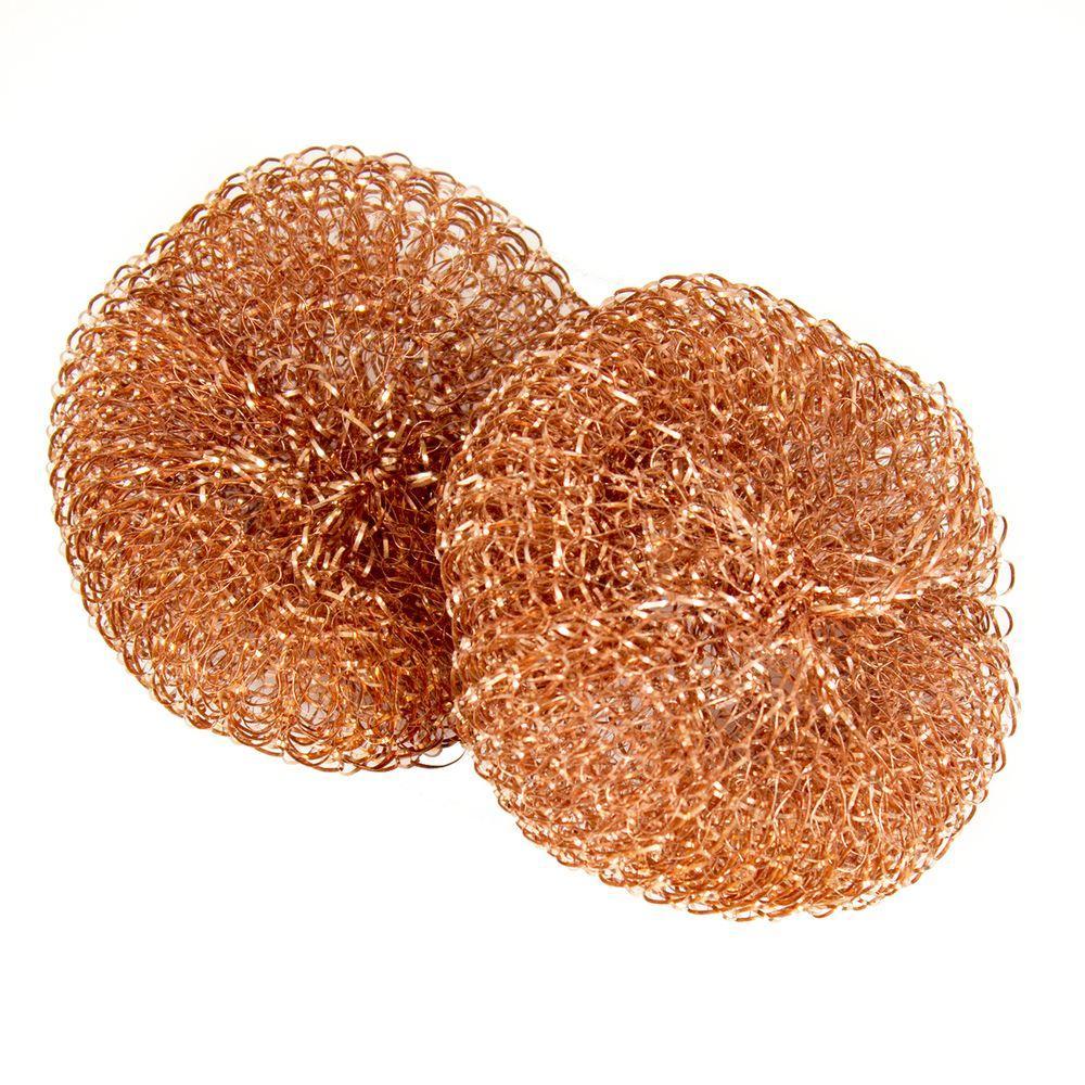 Copper Pot Scrubbers (12-Pack)