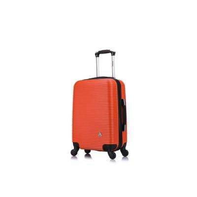 Royal lightweight hardside spinner 20 in. carry-on Orange