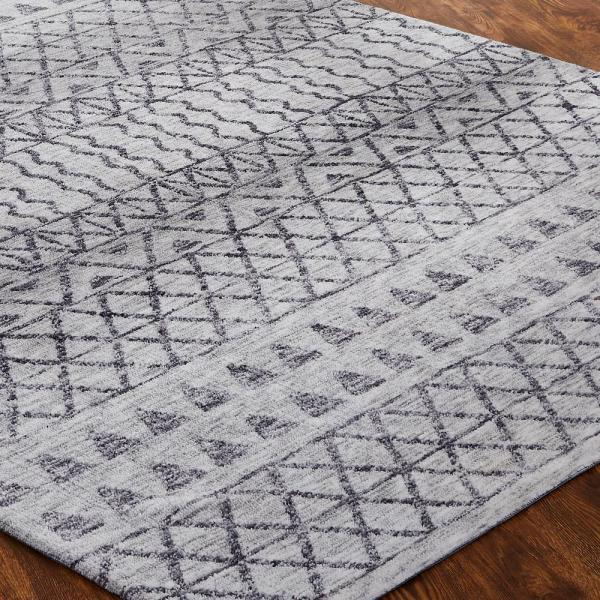Kalaty Nebula Grey 7 Ft 6 In X 9 Ft 6 In Area Rug Cd