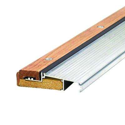 Adjustable 4-9/16 in. x 72 in. Aluminum and Hardwood Sills - Inswing Threshold