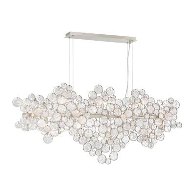 Trento 15-Light Champagne Silver Chandelier