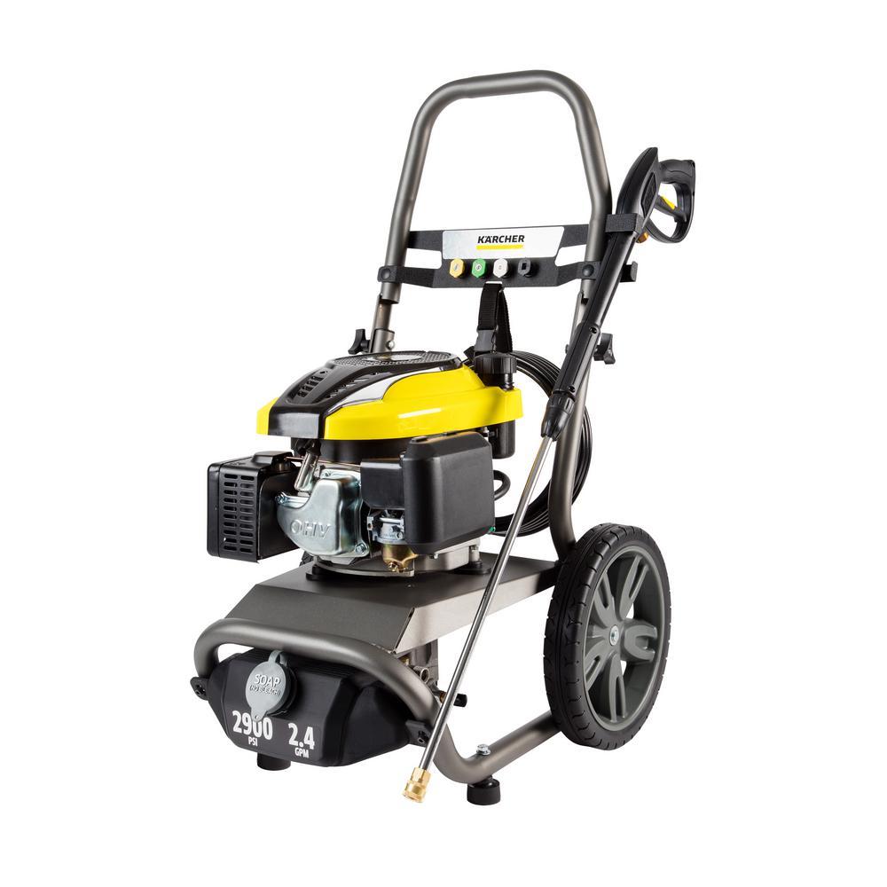 G2900X 2900 PSI 2.4 GPM Gas Pressure Washer