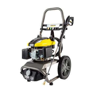 G2900 X - 2900 PSI Gas PW, 2.4 GPM with Karcher KXS Engine - Axial Pump