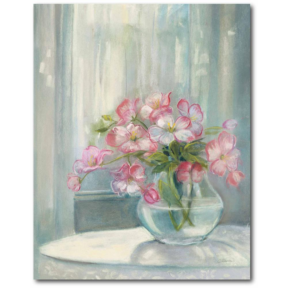 Courtside Market Spring Bouquet II Gallery-Wrapped Canvas Nature Wall Art 20 in. x 16 in., Multi Color was $70.0 now $38.93 (44.0% off)