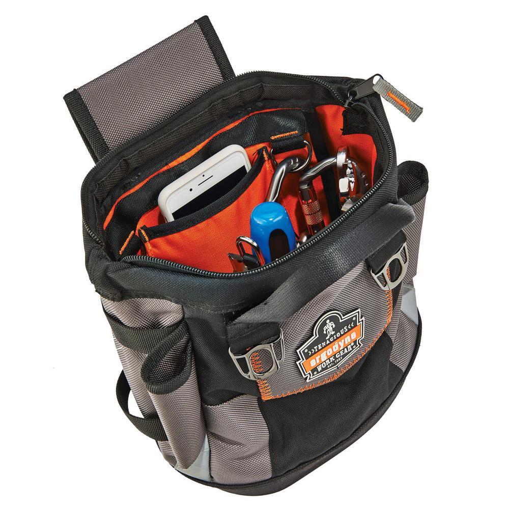 color negro Ergodyne Arsenal 5517 Bolsa para herramientas con cremallera tama/ño /único