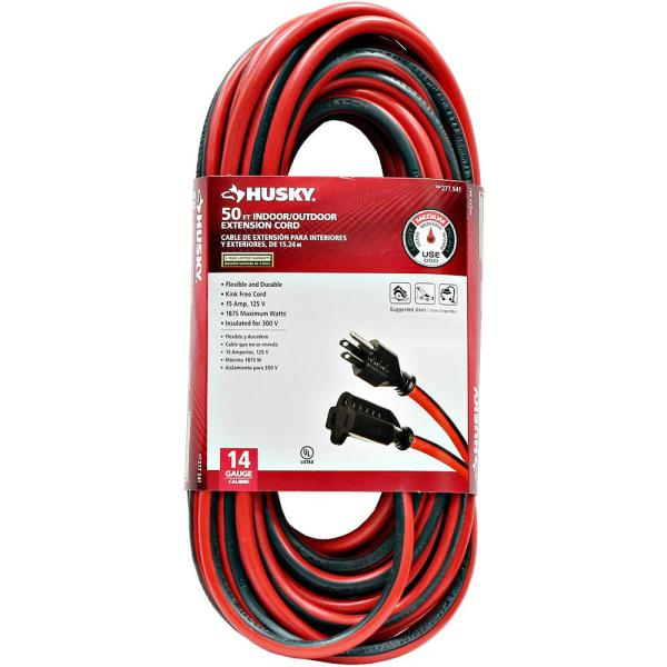 50 ft. 14/3 Medium-Duty Indoor/Outdoor Extension Cord
