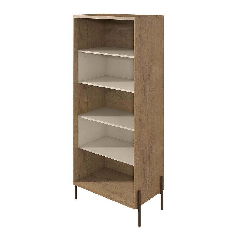 Manhattan Comfort Joy Off White 5 Shelf