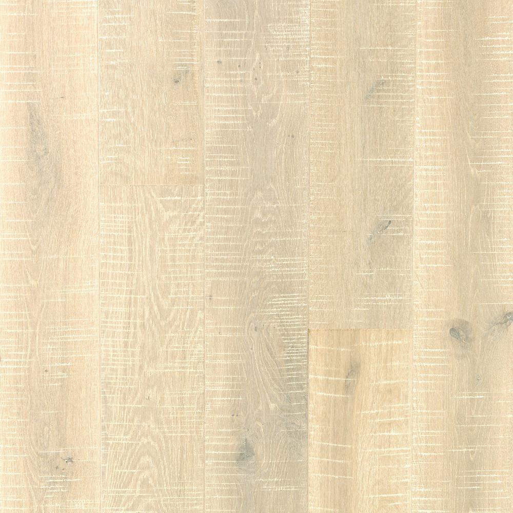 Mohawk Elegant Hm Arctic Wht Oak 9/16 in. Thick x 7.44 in. Width x Varying Length Engineered Hardwood Flooring (22.32 sq. ft.)