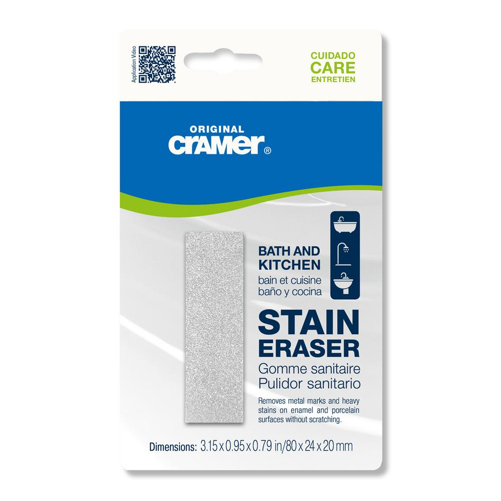 Cramer Bath and Kitchen Stain Eraser (2-Pack), Gray