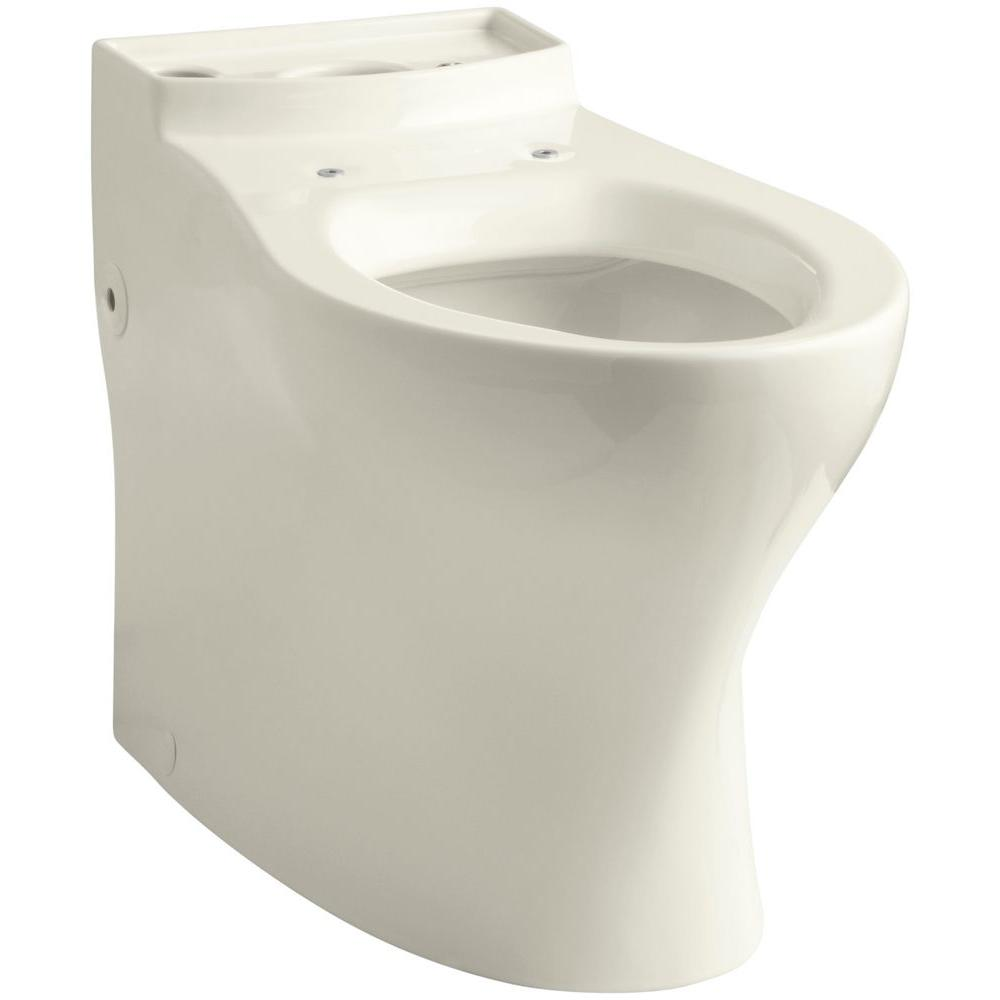 Persuade Comfort Height Elongated Toilet Bowl Only in Biscuit