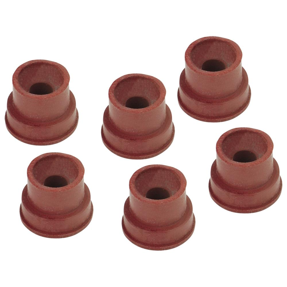 Lumax Grease Fitting Caps, Rubber (5 Piece/Pack)-LX-1458