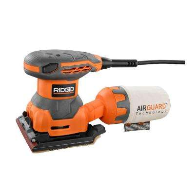 2.4 Amp 1/4 Sheet Sander with AIRGUARD Technology