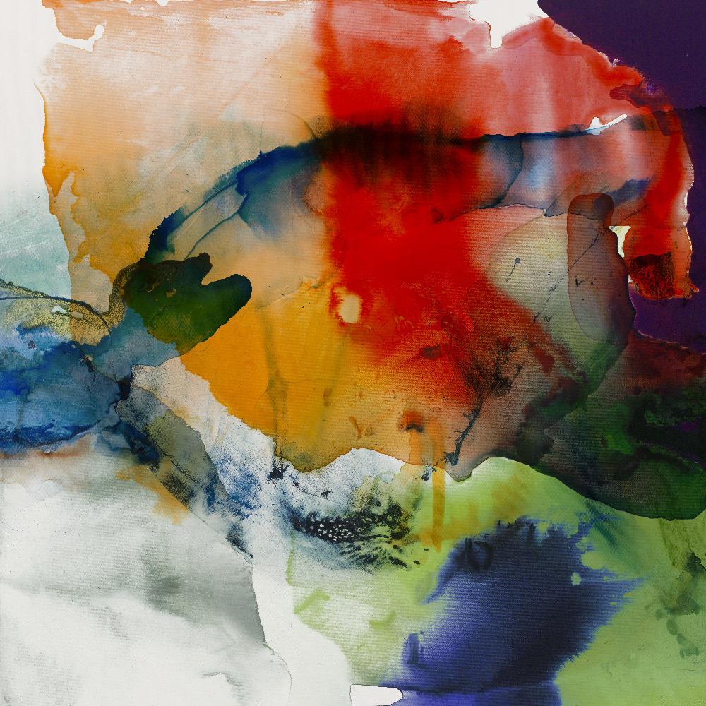 "84 in. x 84 in. ""Vibrant Terrain I"" by Sisa Jasper Canvas Wall Art"