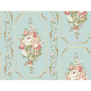 York Wallcoverings Casabella II Floral Panel Wallpaper by York Wallcoverings