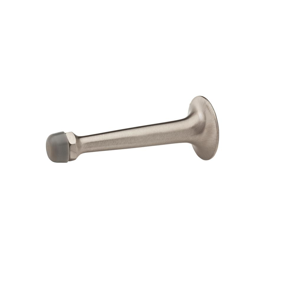 3.85 in. Satin Nickel Wall Bumper