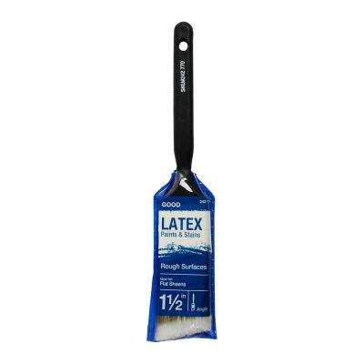 Good 1.5 in. Angled Sash Polyester Paint Brush